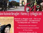 """""""Piume baciatemi la guancia ardente"""" al 64° Raduno Nazionale dei Bersaglieri a Palermo"""