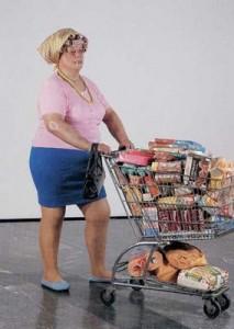 Opera di Duane Hanson Supermarket shopper
